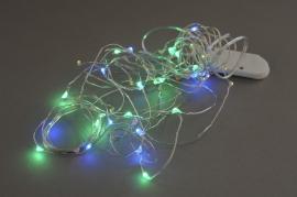 A008CO Set 5 guirlandes électriques 50 LED multicolore L5m