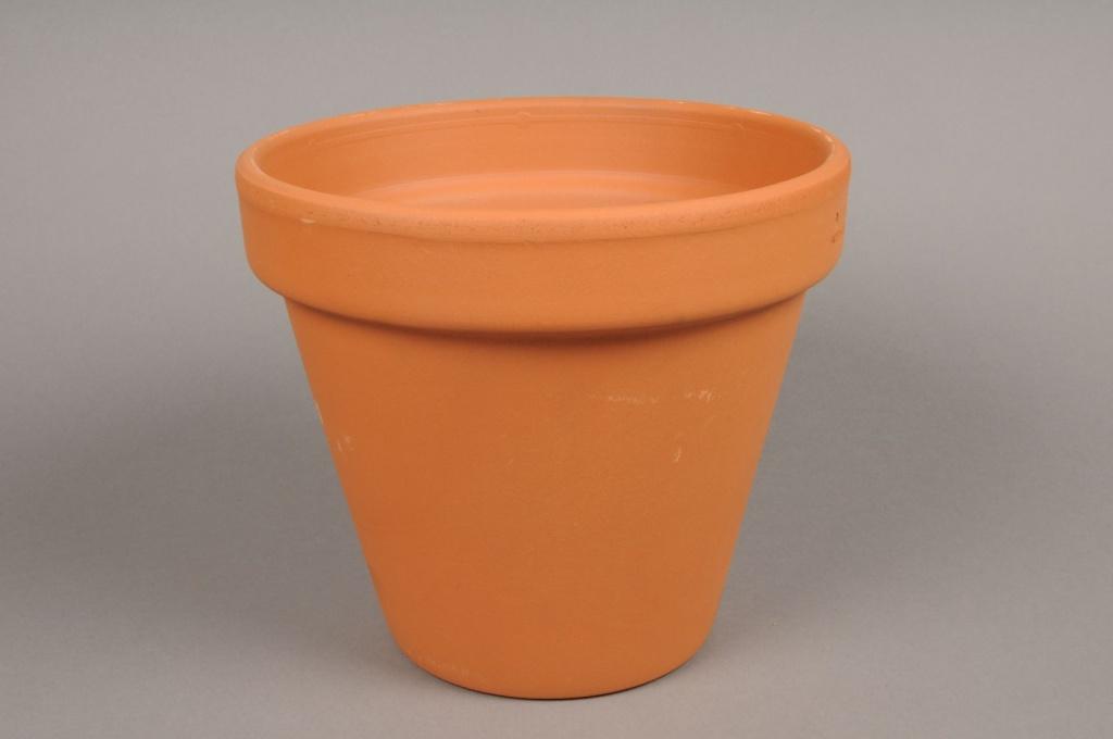 A008KF Pot horticole en terre cuite D52cm H43cm