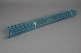 A008L5 Paquet de 100 tuteurs bois vert 60cm