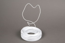 A008MG Roll of aluminium wire white 2mm 60m