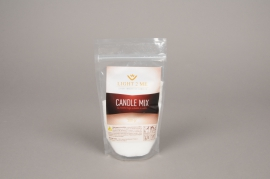 A009L3 Sachet 200gr granule bougie blanche