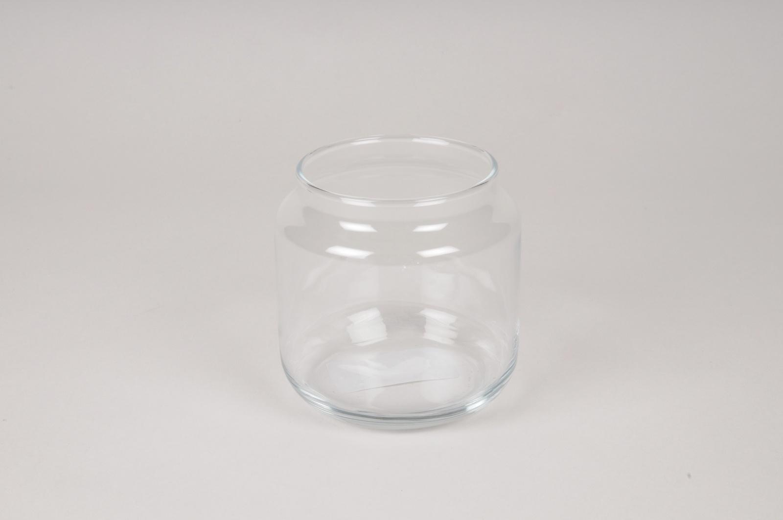 A009NH Vase en verre D10cm H10cm