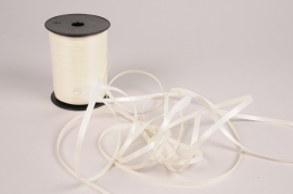 A009RB White curling ribbon 7mm x 500m