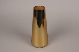A009W0 Vase en métal or H28cm