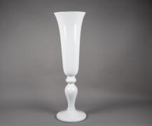 A009W7 Médicis en fibre de verre blanc D38cm H131cm