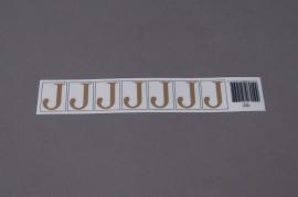 A011K4 Pochette de 70 lettres J 33mm