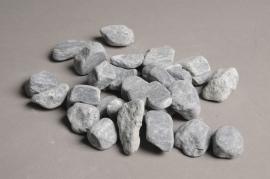 A011RZ Sac de galets gris noir 20/30mm
