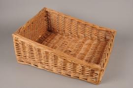 A011TD Wicker shelf basket 52cm x 41cm H21cm