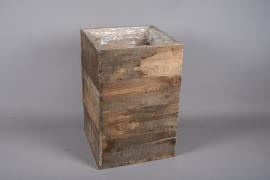 A011WT Sellette en bois 40cm x 40cm 60cm