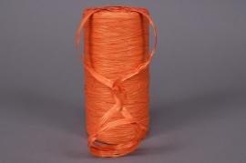 A011ZR Bobine de raphia synthétique orange  200m