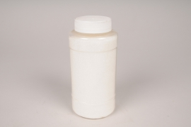 A012BW Pot 400g paillettes blanc