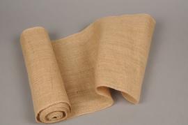 A012GM Natural burlap roll 30cm x 5m