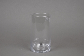 A012I0 Cylindric glass vase D11.5cm H20cm