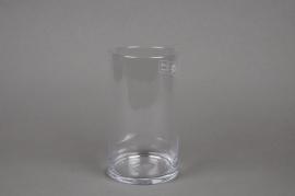 A012I0 Vase verre cylindre D11.5cm H20cm