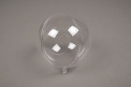 A012OZ Box of 12 openable clear balls D10cm