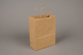 A013AS Paquet de 25 sacs kraft naturel 36x12cm H41cm