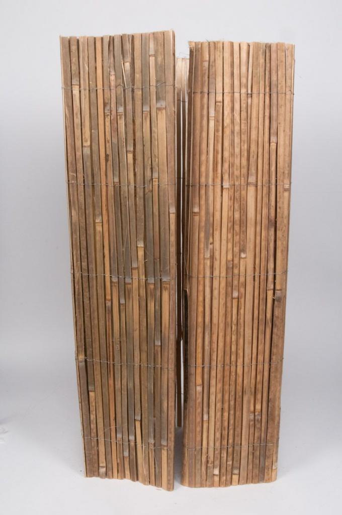 A013DN Palissade en bambou plein 100 x 500cm
