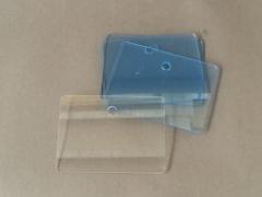 A013GH Paquet de 10 étiquettes plexi 9.5x7cm