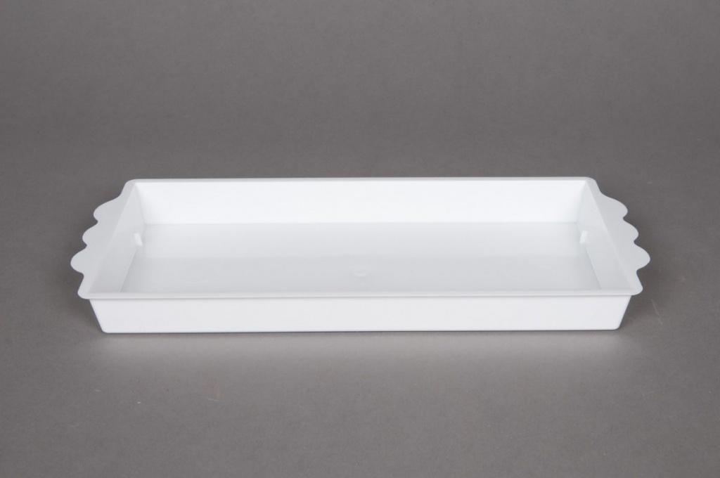 A013X9 Paquet de 25 coupes blanc 24,5x12,5cm