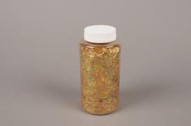 A014BW Glitter pot 400g lamé gold