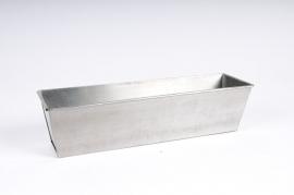 A014GF Jardinière en zinc 29x8 H7cm