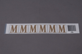 A014K4 Set of 70 letters M 33mm