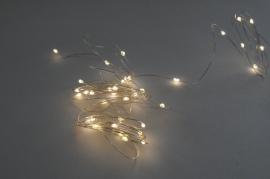 A014R5 Guirlandes électriques 40 LED blanc chaud L4m