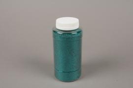 A015BW Glitter pot 400g emerald