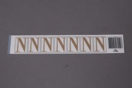 A015K4 Pochette de 50 lettres N 33mm