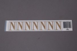 A015K4 Set of 50 letters N 33mm