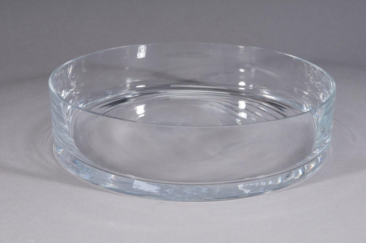 A015PQ Coupe en verre D20cm H6,5cm