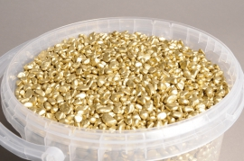 A016SK Bucket 2.5L gold stone D6/8mm