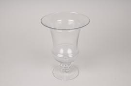 A017A3 Vase médicis en verre D23cm H31cm