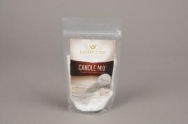 A017L3 Sachet 200gr granule bougie blanche argent