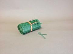 A017L5 Paquet de 1000 liens armés vert 10cm