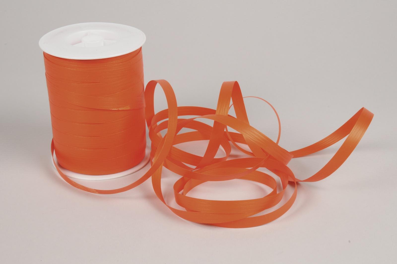 A017RB Bolduc mat orange 10mm x 250m