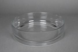 A018PQ Bowl glass D30cm H7cm