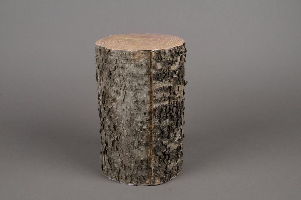 A018QJ Sellette buche en bois diamètre 14cm hauteur 23cm