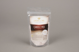 A019L3 Pack of 200gr powder white and red candle