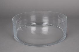 A019PQ Bowl glass D30cm H10cm