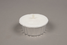 A020L3 Candle in aluminum pot D9cm