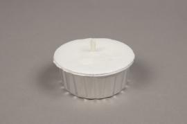 A020L3 Bougie dans pot en aluminium D9cm