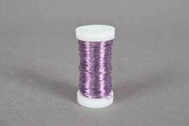 A020MG Rouleau de fil de fer lavande 0,5mm 100gr 50m