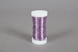 A020MG Wire roll lavander 0,5mm 100gr 50m
