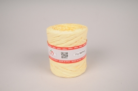 A020RB Ivory roll of synthetic raffia 200m