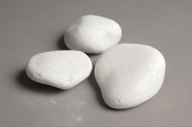 A020RZ Bag of white pebbles 70/120mm