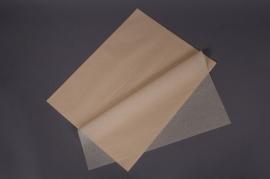 A021AS Paquet de 480 feuilles papier de soie ivoire 50x75cm