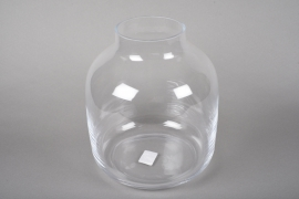 A021IH Design glass vase D26cm H29cm