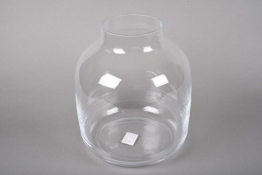 A021IH Vase verre déco D26cm H29cm