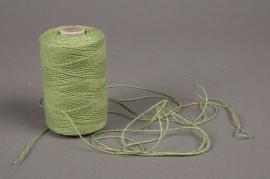 A021L5 Paquet 20 bobines de coton 3 fils vert